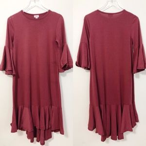 Lularoe Maurine Swing Dress Size Small
